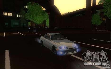 Lexus SC300 para GTA San Andreas vista interior