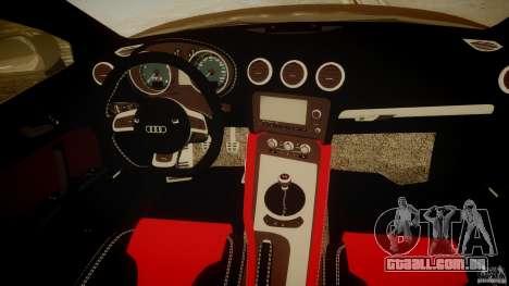 Audi TTS Coupe 2009 para GTA 4 vista direita