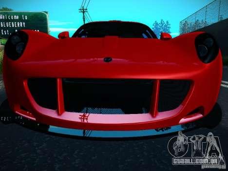 Hennessey Venom GT Spyder para GTA San Andreas vista direita