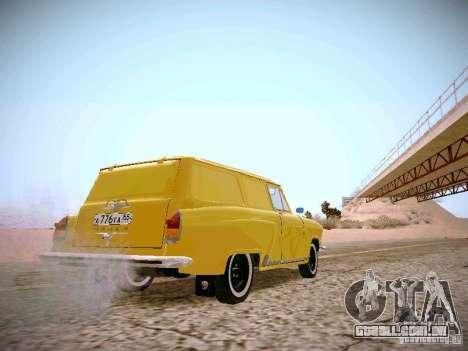 Van de gás 22B para GTA San Andreas vista direita