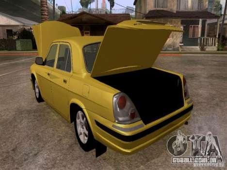 GAZ Volga 31107 para GTA San Andreas vista interior