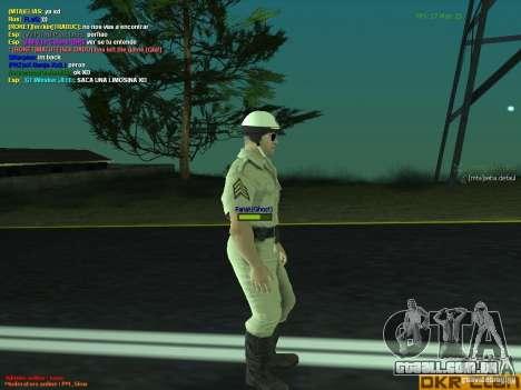 HQ texture for MP para GTA San Andreas terceira tela
