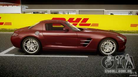 Mercedes-Benz SLS AMG 2010 [EPM] para GTA 4 vista lateral