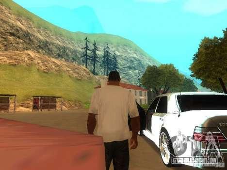 Configuração de qualidade ENBSeries para GTA San Andreas segunda tela