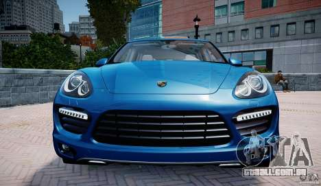 Porsche Cayenne Turbo 2012 para GTA 4 vista de volta