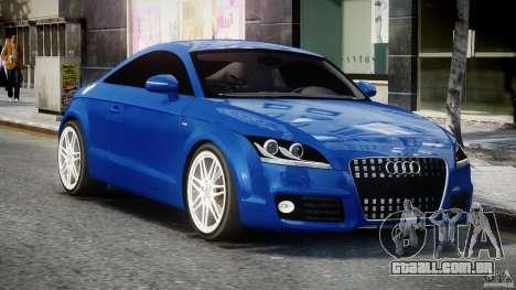 Audi TT RS Coupe v1.0 para GTA 4 vista de volta