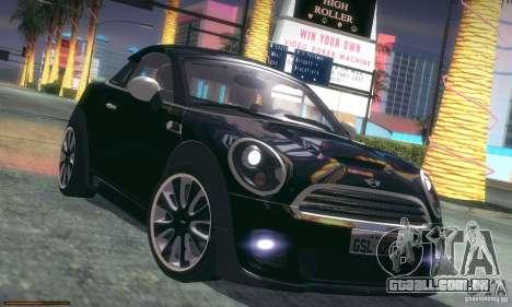 Mini Concept Coupe 2010 para GTA San Andreas vista inferior