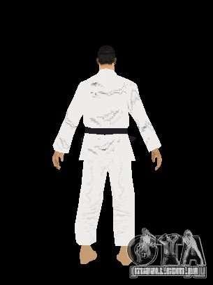 Reteksturirovannye karate para GTA San Andreas sexta tela