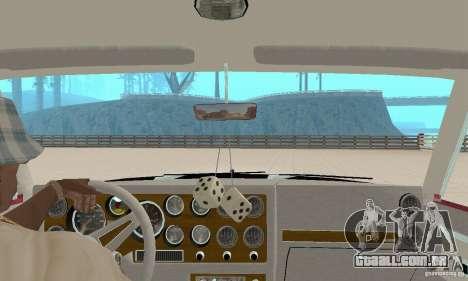 Pontiac Grand Prix 1985 para GTA San Andreas vista interior