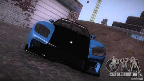 Mazda RX-7 Veilside v3 para GTA San Andreas vista direita