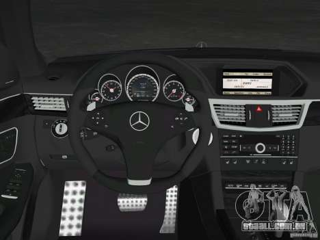 Mercedes-Benz E63 AMG para o motor de GTA Vice City