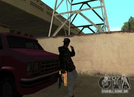 A$AP Rocky para GTA San Andreas terceira tela