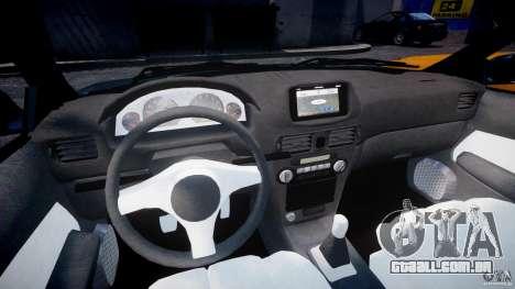 Toyota Sprinter Carib BZ-Touring 1999 [Beta] para GTA 4 vista de volta