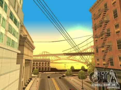 New Sky Vice City para GTA San Andreas por diante tela