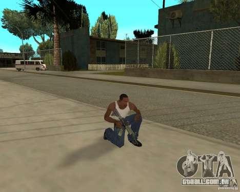 Armas de STALKERa para GTA San Andreas décimo tela