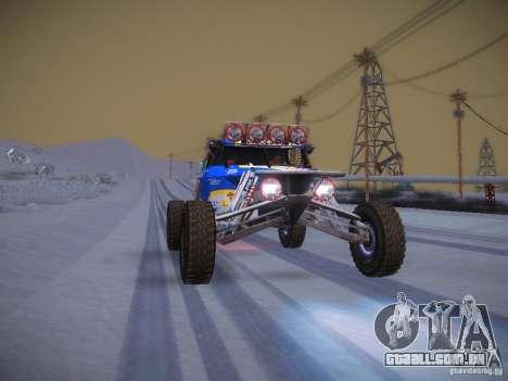 Ickler Jimco Buggy para GTA San Andreas vista inferior
