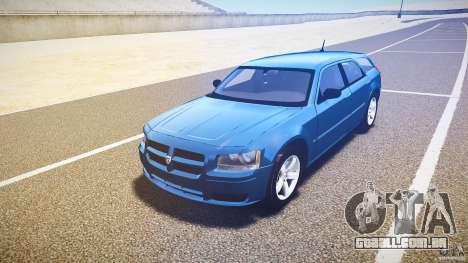 Dodge Magnum RT 2008 para GTA 4 vista de volta