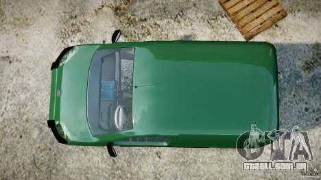 Fiat Fiorino 2008 Van para GTA 4 vista direita