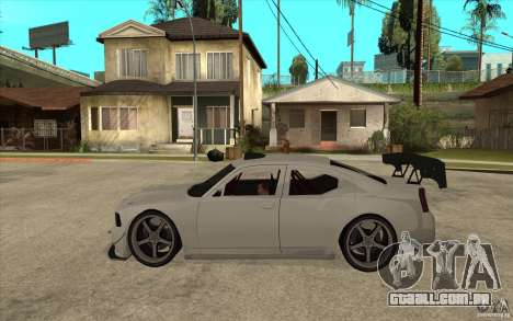 Dodge Charger 2009 para GTA San Andreas esquerda vista