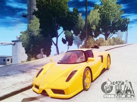 Ferrari Enzo 2002 para GTA 4 vista interior