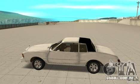 Chevrolet Monte Carlo 1976 para GTA San Andreas esquerda vista