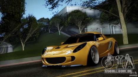 Lotus Exige Track Car para GTA San Andreas vista interior