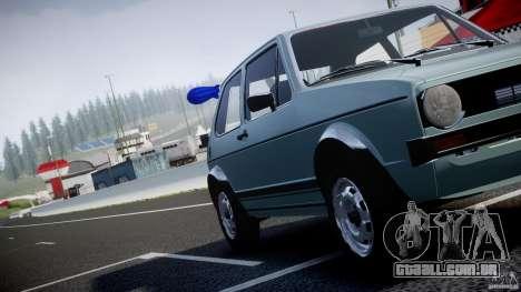 Volkswagen Golf Mk1 para GTA 4 motor