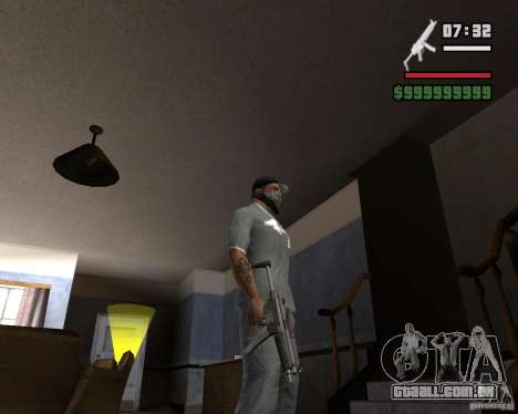 Mp5HD para GTA San Andreas terceira tela