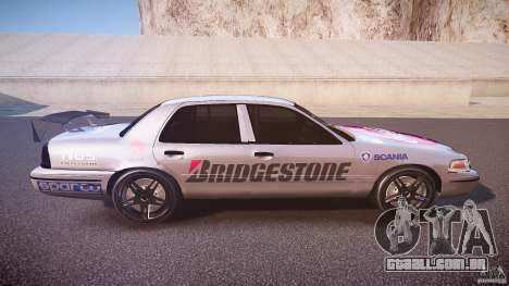 Ford Crown Victoria Tuning (Beta) para GTA 4 vista interior
