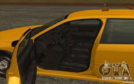 Chevrolet Impala Taxi 2003 para GTA San Andreas traseira esquerda vista