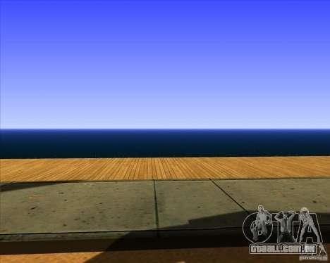 Belo cenário ENBSeries para GTA San Andreas nono tela