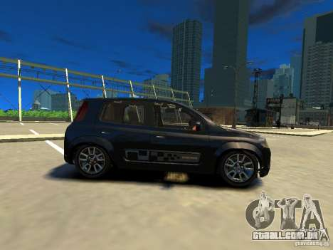 Fiat Novo Uno Sporting para GTA 4 esquerda vista