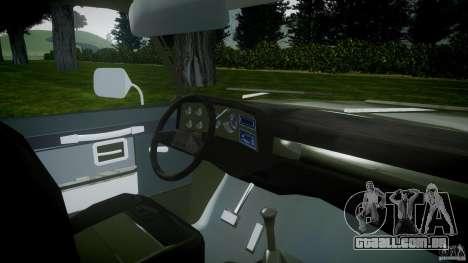 Chevrolet D20 Brigada Militar RS para GTA 4 vista direita