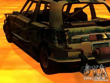 CHILI from FlatOut 2 para GTA San Andreas esquerda vista