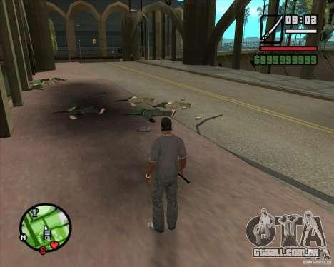 Chidory Mod para GTA San Andreas terceira tela
