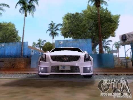 Cadillac CTS-V 2009 para GTA San Andreas vista direita