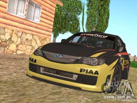 Subaru Impreza WRX STI N14 Gymkhana para GTA San Andreas
