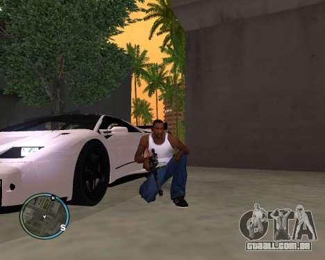 VSS Vintorez para GTA San Andreas terceira tela