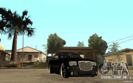 Chrysler 300C DUB para GTA San Andreas vista traseira