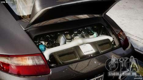 Porsche 911 Turbo para GTA 4 vista interior