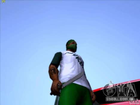 Machete from Far Cry 3 para GTA San Andreas