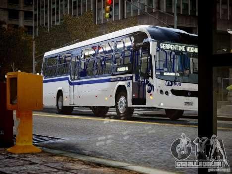 Scania K230 MTA New York City Bus para GTA 4 vista direita