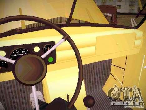 GÁS-51A para GTA San Andreas vista interior