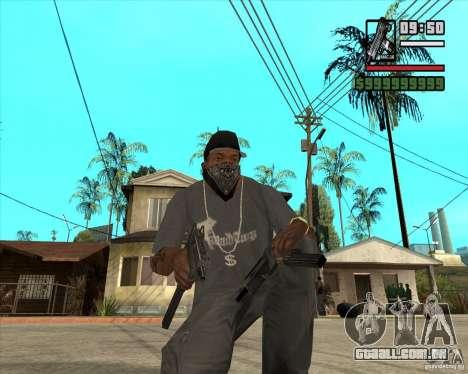 Millenias Weapon Pack para GTA San Andreas por diante tela