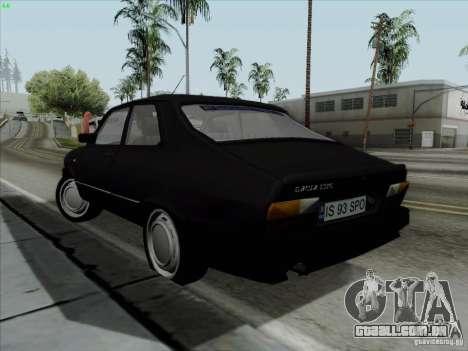 Dacia 1310 L Sport para GTA San Andreas traseira esquerda vista