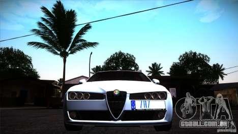 Alfa Romeo 159 Ti para GTA San Andreas vista interior