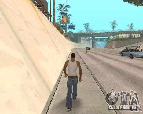Sprint System v1.0 para GTA San Andreas terceira tela