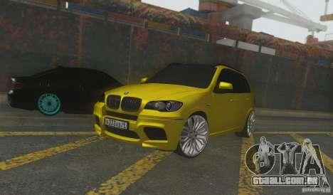 BMW X5M Gold Smotra v2.0 para GTA San Andreas