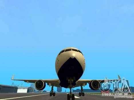 Boeing 767-300 British Airways para vista lateral GTA San Andreas