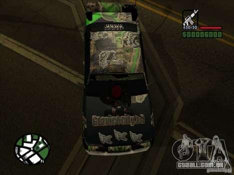Novo vinil para Cultana para GTA San Andreas esquerda vista